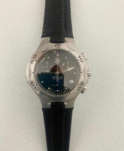 Relógio tag heuer kirium chronograph original