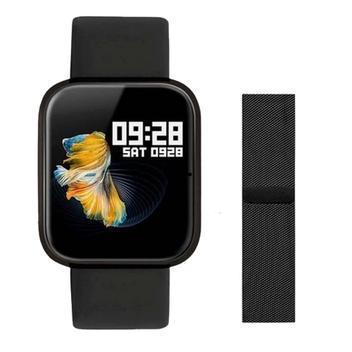Relogio smartwatch monitor pressao cardio p70 preto - smarth