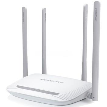 Roteador wireless 300mbps 4 portas 10/100mbps 4 antenas 5dbi