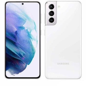 "Samsung galaxy s21 branco, com tela infinita de 6,2"","