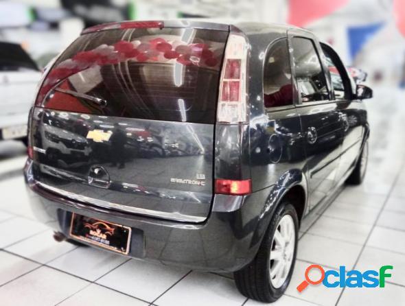 Chevrolet meriva premium 1.8 mpfi 8v flexpower cinza 2009 1.8 flex