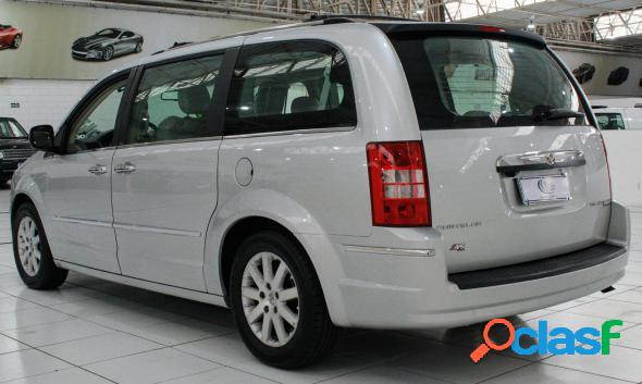 Chrysler town & country limited 3.8 3.6 v6 aut. prata 2008 3.8 gasolina