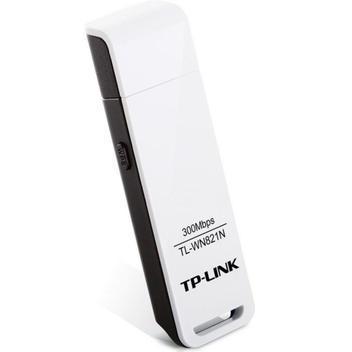 Adaptador wireless - usb 2.0 - tp-link n300 - branco/preto -