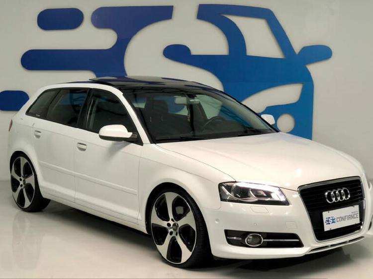 Audi a3 2.0 sportback branco 2010/2011 - curitiba 1480130