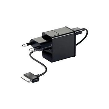 Carregador + cabo tablet samsung galaxy tab compatível -