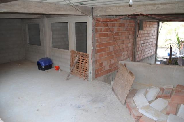 Casa + barracão em lote 220 m² no novo santa cecilia no