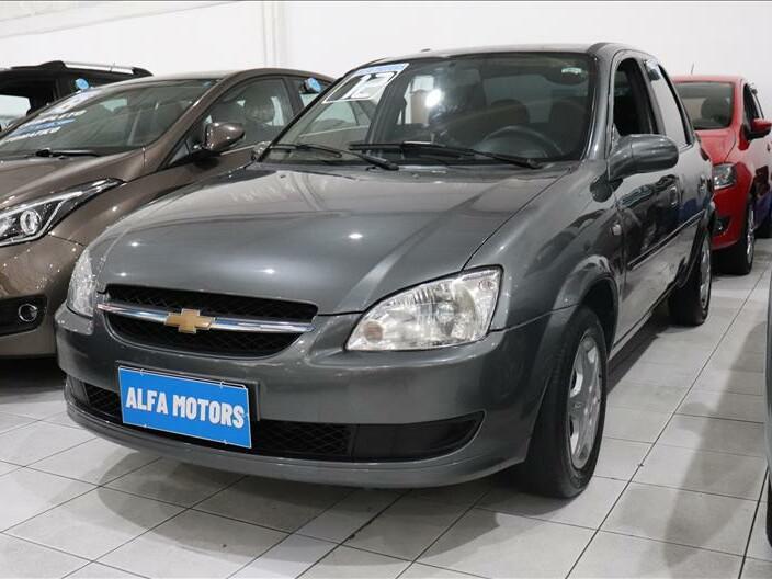 Chevrolet classic 1.0 ls 8v cinza 2011/2012 - são paulo