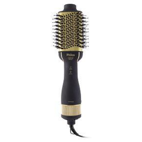 Escova secadora philco pure hairbrush pes15 soft gold íons