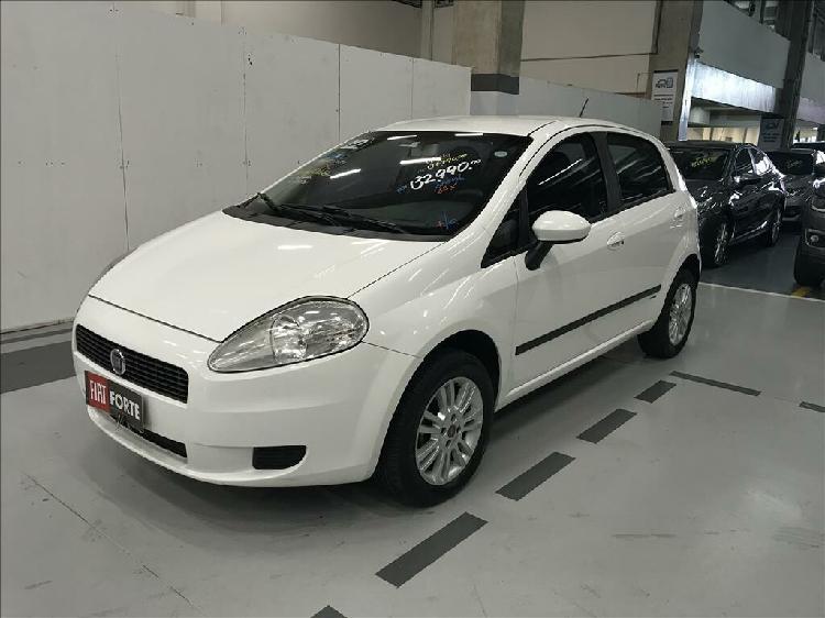 Fiat punto 1.4 attractive 8v branco 2011/2012 - campinas