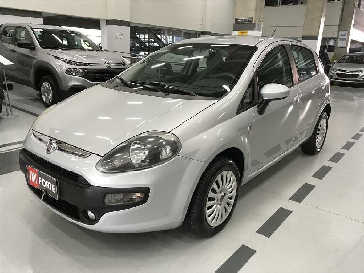 Fiat punto 1.4 attractive 8v prata 2012/2013 - campinas