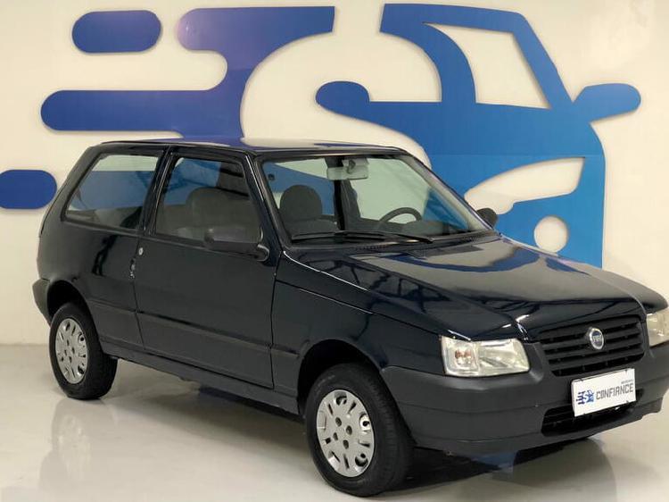 Fiat uno 1.0 mille fire 8v azul 2006/2006 - curitiba 1480094
