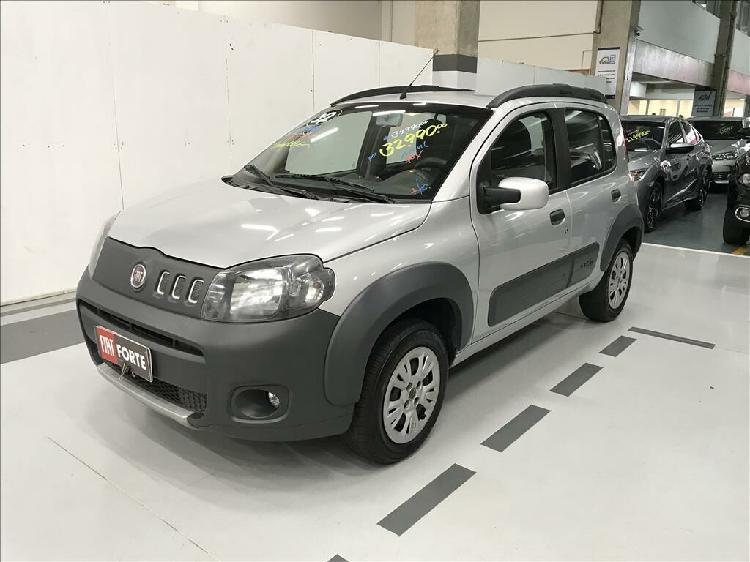 Fiat uno 1.4 way 8v prata 2011/2012 - campinas 1480572