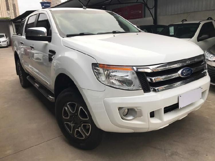 Ford ranger 2.5 xlt branco 2015/2015 - goiânia 1480511