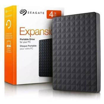 Hd externo portátil seagate expansion 4tb usb 3.0 - hd