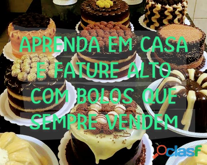Livro de receitas de bolos profissionais