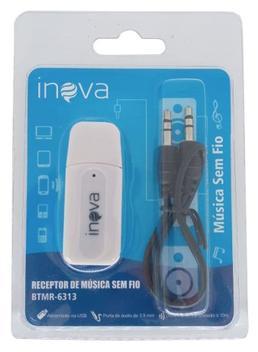 Adaptador veicular bluetooth audio p2 usb som - wifi