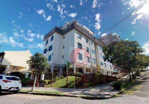 Apartamento duplex com 2 dormitórios à venda, 90 m² por