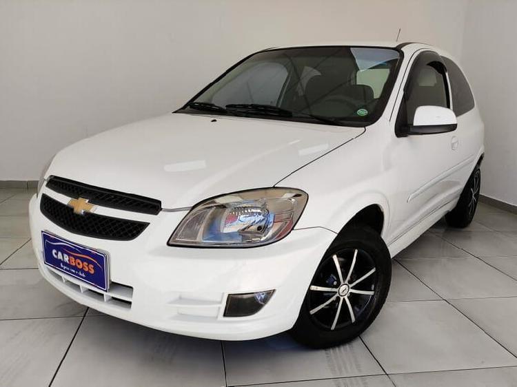 Chevrolet celta 1.0 8v branco 2012/2013 - são josé dos