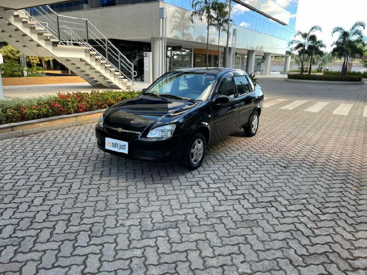 Chevrolet classic 1.0 ls 8v preto 2012/2013 - brasília