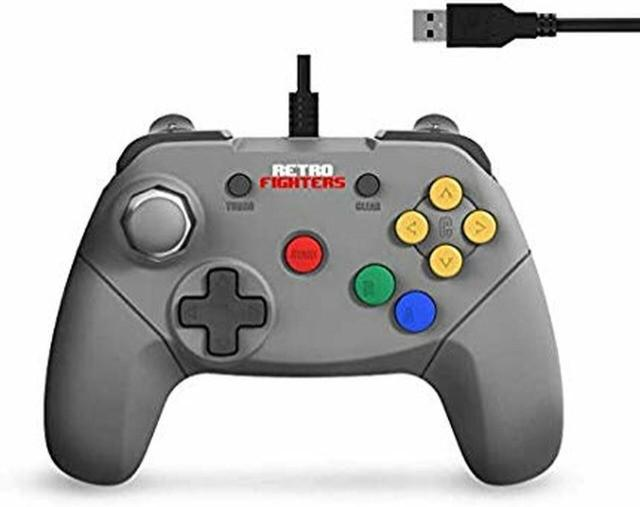 Controle brawler64 usb para switch / pc / mac / android