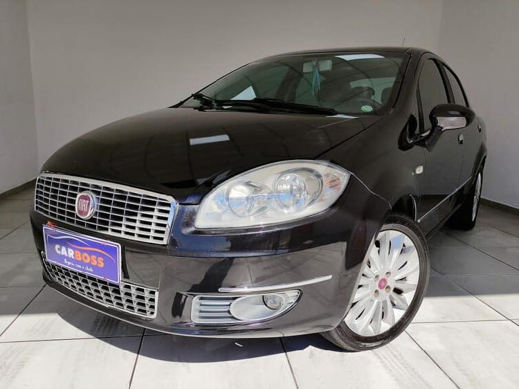 Fiat linea 1.8 essence 16v preto 2013/2013 - são josé dos
