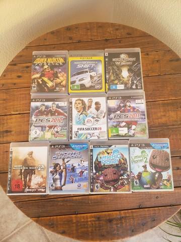 Jogos para Play Station 3 - PS3
