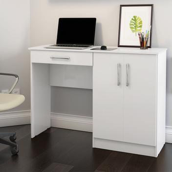 Mesa computador quarto escritorio space - patrimar moveis -