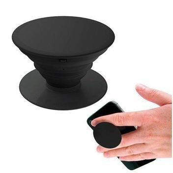 Pop socketssuporte celular black popsockets clip ios android