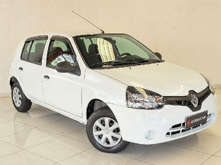 Renault clio 1.0 expression branco 2013/2014 - osasco