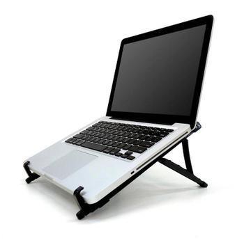 Suporte ergonômico dobrável para notebook reliza - suporte
