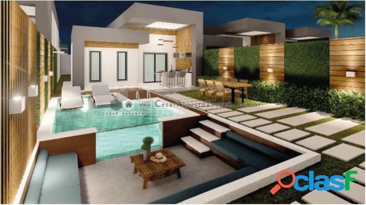 San marino condominio - casa com 3 dorms em eusebio - centro por 327.500,00 à venda