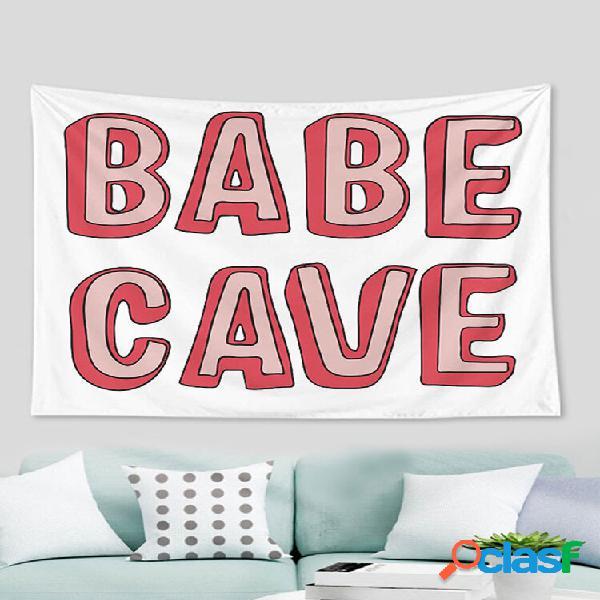 Carta colorida padrão tapeçaria tapeçaria tapeçaria sala decoração quarto