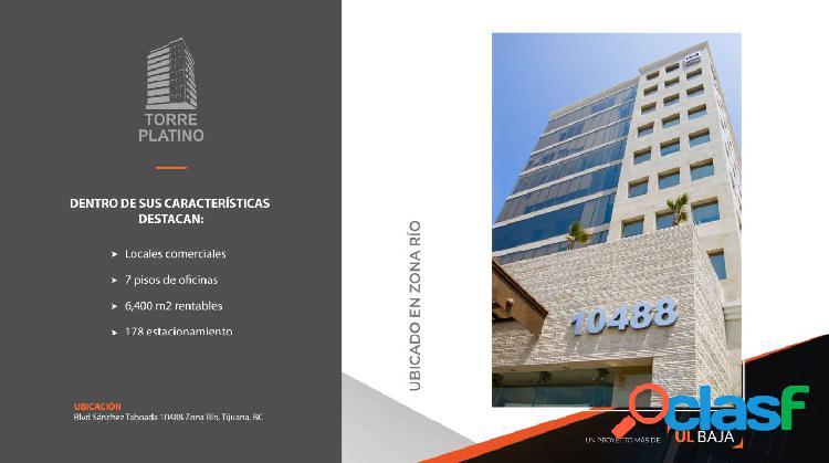 Oficinas en renta en torre platino tijuana