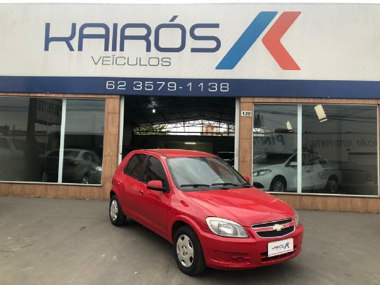 Chevrolet celta 1.0 8v vermelho 2014/2014 - goiânia 1480874