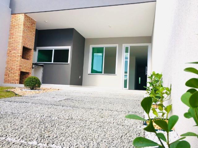 Dp casa nova:3 quartos 2 banheiros com fino acabamento a 10