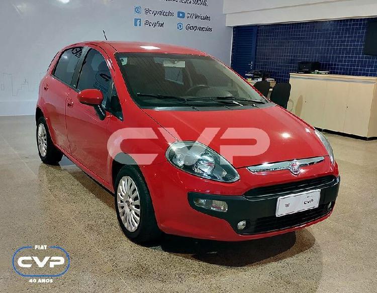 Fiat punto 1.4 attractive 8v vermelho 2014/2014 - brasília