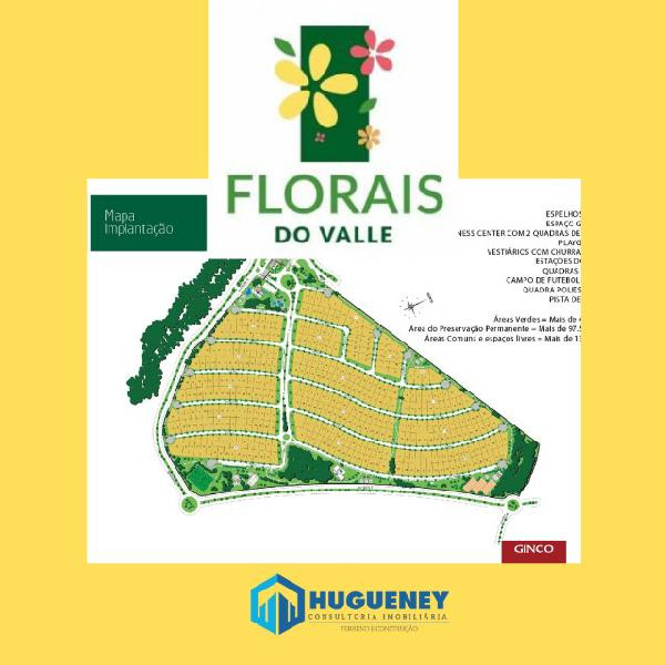 Florais do valle - terreno 805 m²