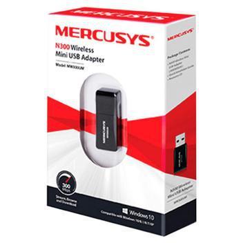 Mini adaptador usb wireless n300 mw300um - mercusys -