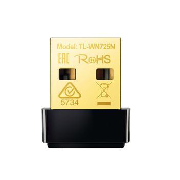 Nano adaptador tp-link usb wireless n150mbps - tl-wn725n -