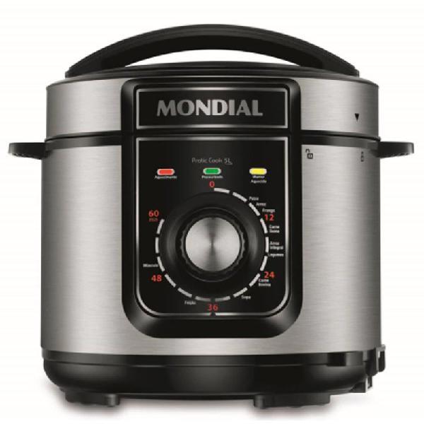 Panela de pressão elétrica pe-48-5l-i pratic cook 5l 127v