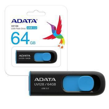 Pen drive adata 64gb usb 3.1 auv128-64g-rbe - pen drive -