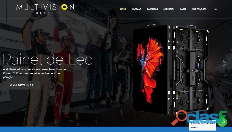 Comprar Painel de LED P/ Lojas   Telão de LED de Alta Qualidade