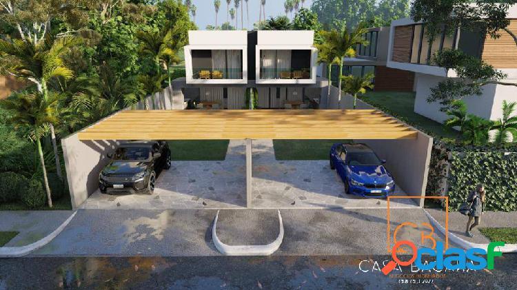 Casas duplex fino acabamento - nova são pedro
