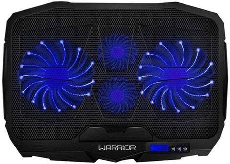 Base para notebook com cooler led azul gamer multilaser