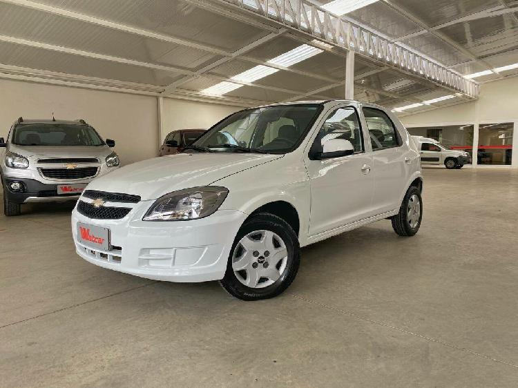Chevrolet celta 1.0 lt 8v branco 2012/2013 - goiânia
