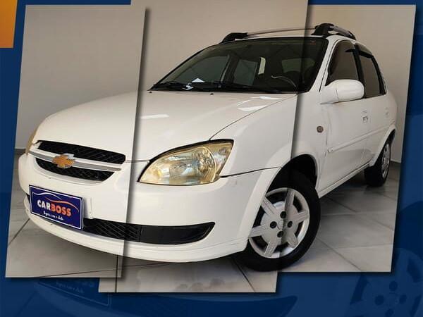 Chevrolet classic 1.0 ls 8v branco 2013/2014 - são josé