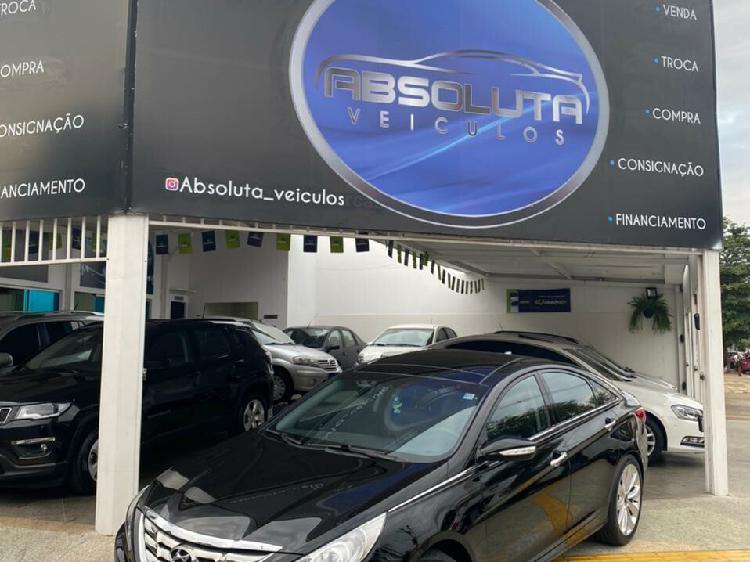 Hyundai sonata 2.4 16v preto 2011/2012 - goiânia 1481361