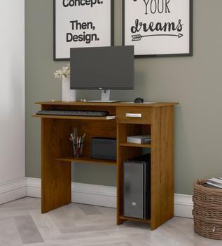 Mesa computador quarto escritorio viena 1 gav - ej moveis -
