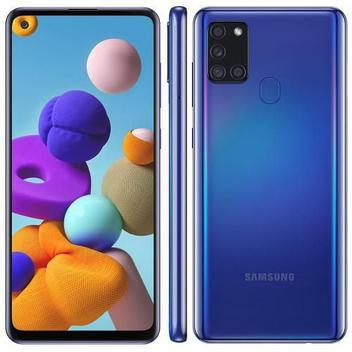 Smartphone galaxy a21s 64gb azul samsung - galaxy a21s -