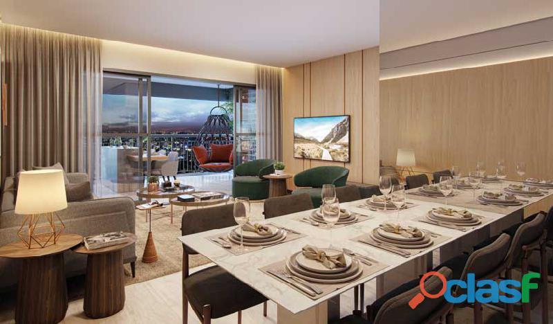 Apartamento 64m²   2 Dormitórios   Vaga de Garagem   Lavabo   Terraço Social e Terraço Técnico